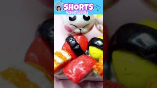 DIY Miniature Food Japanese Food Sushi DIY BY BEENA#Shorts