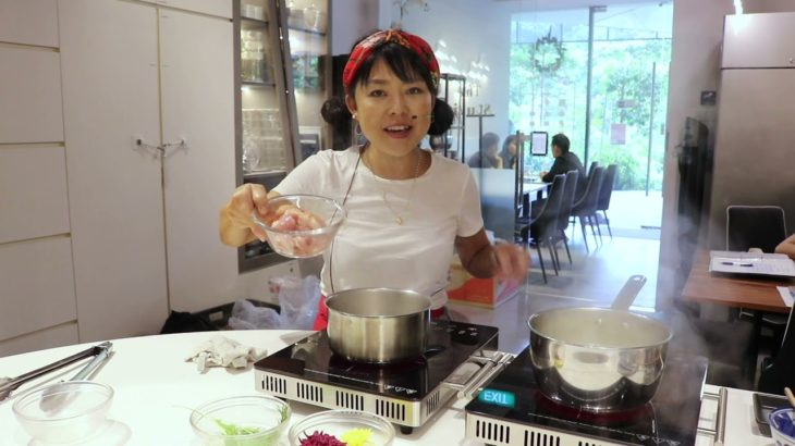 Easy & Healthy Japanese Food's Recipe -Chicken Umen Soup