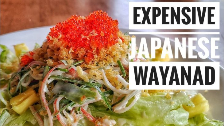 Expensive Japanese Food in Wayanad | Not even avaialable in Kochi | #Shorts