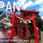 Japan travel film 中山道 落合宿① A top secret spot in Japan virtual walk(Gifu, Japan)