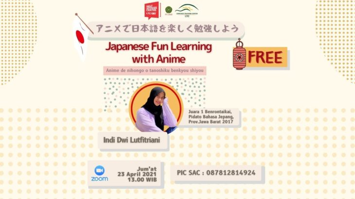 Japanese Fun Learning with Anime