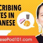 Learn Japanese Kanji to Describe Tastes