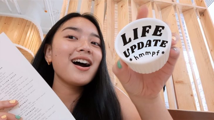 Life update: why I *kinda* stopped vlogging + eating Japanese food allll afternoon!