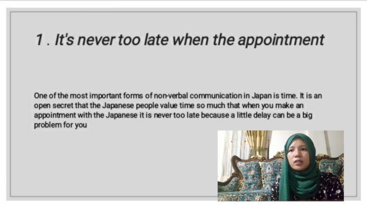 Non-verbal Communication and Japanese culture