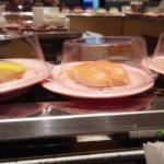 SUSHI CONVEYOR BELT GO AROUND JAPANESE RESTAURANT IN TAIWAN CARREFOUR FOOD COURT FRENCH HYPERMARKET