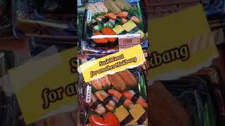 TIRADOR NG SUSHI  ASSORTED SUSHI  THE BEST JAPANESE FOOD#SHORTS