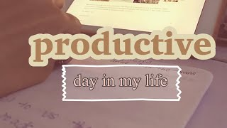 A productive day in my life | studying Japanese |DREAMS TO JAPAN