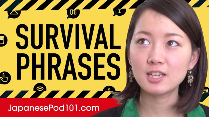 All Survival Phrases You Need in Japanese! Learn Japanese in 60 Minutes!