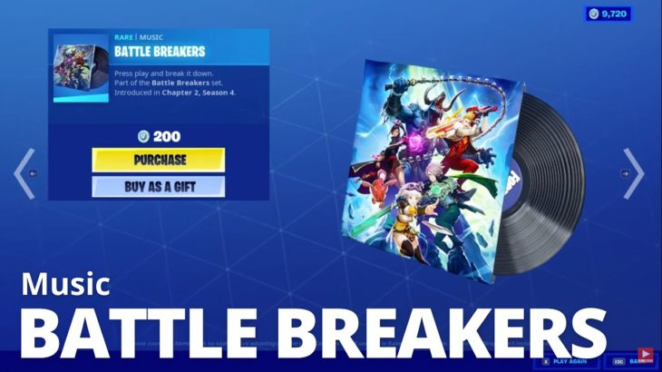 Free MUSIC Background BATTLE BREAKERS Anime Japan Fighting Song (Fortnite OST | Soundtrack)