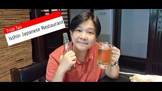 Japanese food & San Mig Light (Isshin Makati – Tempura, Tuna Maki, Teppan & more) | Trish Tan Vlogs