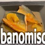 Japanese food – sabanomisoni (cooking)