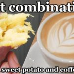 Japanese food. Roasted sweet potatoes and coffee! What a combination!