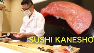 OMAKASE AT SUSHI KANESHO -Asakusa,Tokyo – May 2021 – Japanese Food [English Subtitles]