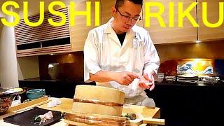 OMAKASE AT SUSHI RIKU -Gaienmae,Tokyo – April 2019 – Japanese Food [English Subtitles]