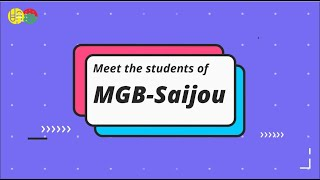 Reason for Studying Japanese by MGB-Saijou Students