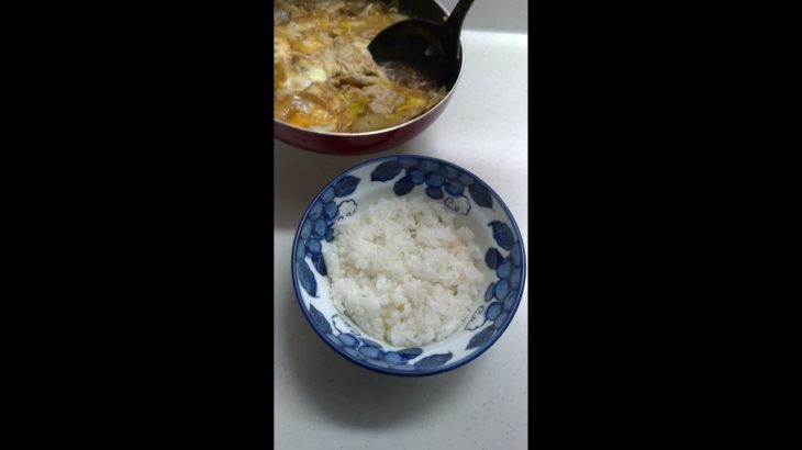 【Shorts】節約飯我流親子丼【飯】 | Saving rice oyakodon, | Japanese food