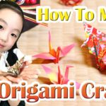 How To Make an Origami Crane♡Japan【paper craft】