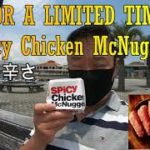 LIMITED TIME TO TRY Delicious Spicy Chicken McNuggets in Japan! 燃える辛さ