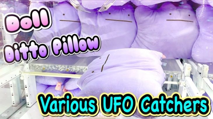 Various Claw Machine in Japan !! UFO Catchers Wins!! Cute Prizes ! Anime ,  Doll UFOキャッチャー