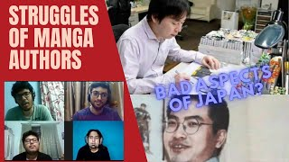 BAD ASPECTS OF JAPANESE CULTURE!! || Struggles of Manga and Anime creators (ft. Japan Curry)