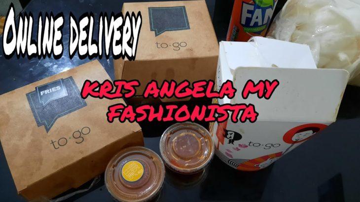 Food delivery /OCCIO/To Go/Kris Angela My Fashionista Vlog/Japanese Food