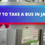How to take a bus in Japan