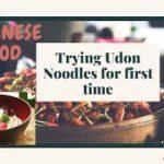 Indian trying Udon Noodles for First Time | Food Vlog | Japanese Food #udonnoodles