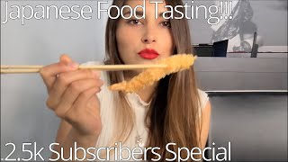 Japanese food mukbang!!! All you can eat Sushi – Italy edition   2.5k Subscribers Video