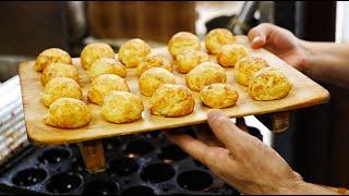 """【玉子焼】「ふなまち」Japanese street food """"Tamagoyaki"""" in Hyogo"""