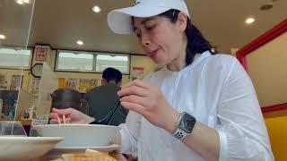 Mukbang Japanese Food||Ramen||Gyoza||Chahan||Gemma Azuma