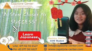 Now offering training course for individuals seeking to learn Japanese Language Course.