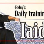 [Training at home: Iaido] Sharing the culture and how we do our self-training with you *No archive