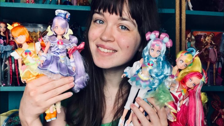 Tropical-Rouge Precure dolls + Cure La Mer!! | Japanese Anime fashion dolls English review :D
