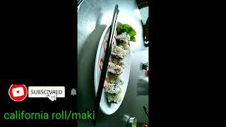 california  sushi /japanese  food