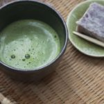Japanese culture | drink matcha on a snowy mountain | tea ceremony