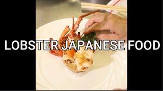 LOBSTER JAPANESE FOOD