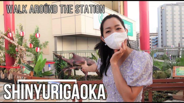 Walk around SHINYURIGAOKA  Station/ EBINA/Japan/Travelling in Japan/Trip