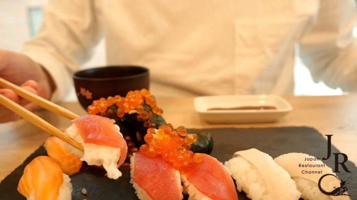 Japanese Street Food – Sushi – ASMR Cooking ③