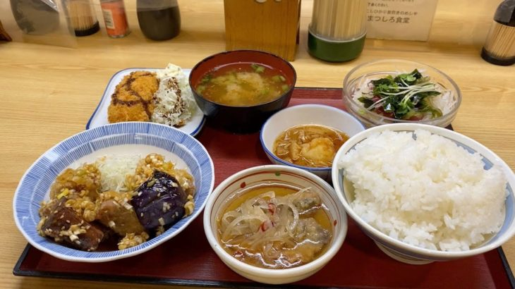 Japanese food set – Choice Japanese food by yourself in Nagano