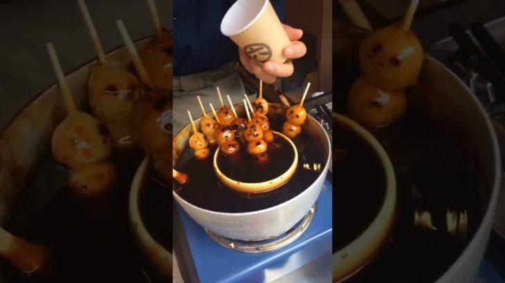 Japanese Sweet Dango 団子 #dango #団子 #japanesefood