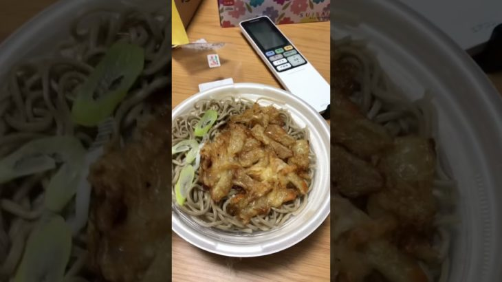 What's for dinner? Soba with vegetable tempura!!! #yummy #japanese #food for your #short #videos